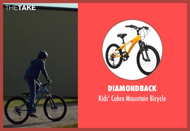 Diamondback bicycle from Max seen with Josh Wiggins (Justin Wincott)