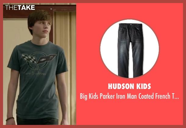 Hudson Kids black pant from Max seen with Josh Wiggins (Justin Wincott)