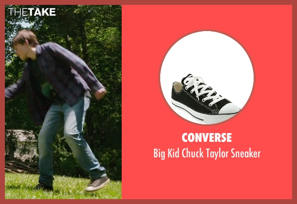 Converse black sneaker from Max seen with Josh Wiggins (Justin Wincott)