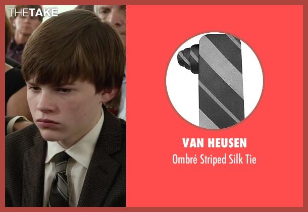 Van Heusen black tie from Max seen with Josh Wiggins (Justin Wincott)