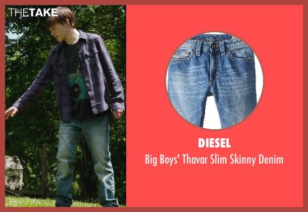 Diesel blue denim from Max seen with Josh Wiggins (Justin Wincott)