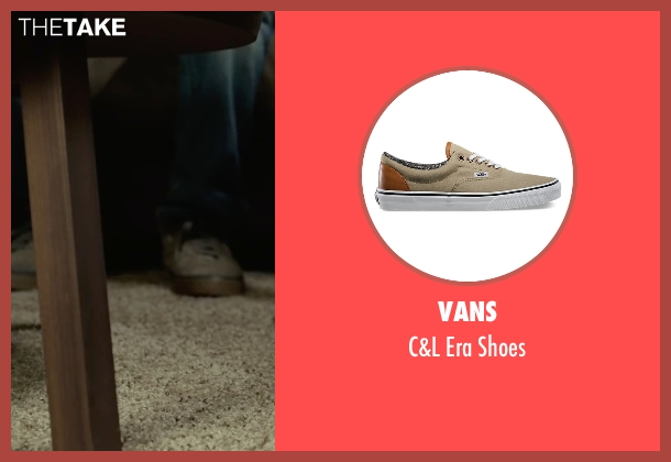 Vans brown shoes from Max seen with Josh Wiggins (Justin Wincott)