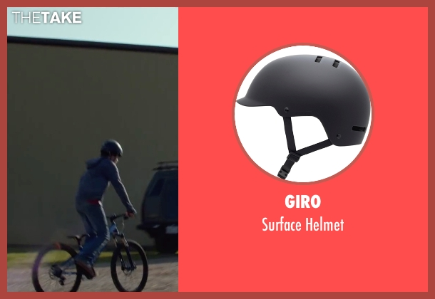 Giro helmet from Max seen with Josh Wiggins (Justin Wincott)