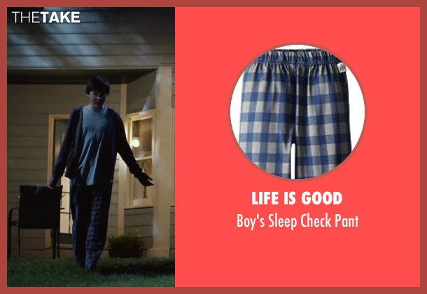Life Is Good pant from Max seen with Josh Wiggins (Justin Wincott)