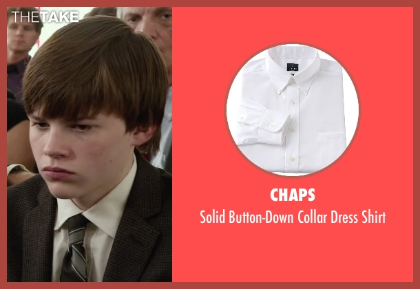 Chaps white shirt from Max seen with Josh Wiggins (Justin Wincott)