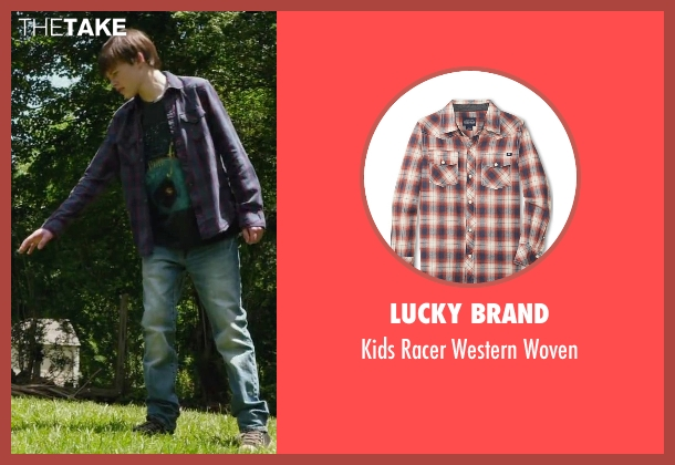 Lucky Brand woven from Max seen with Josh Wiggins (Justin Wincott)