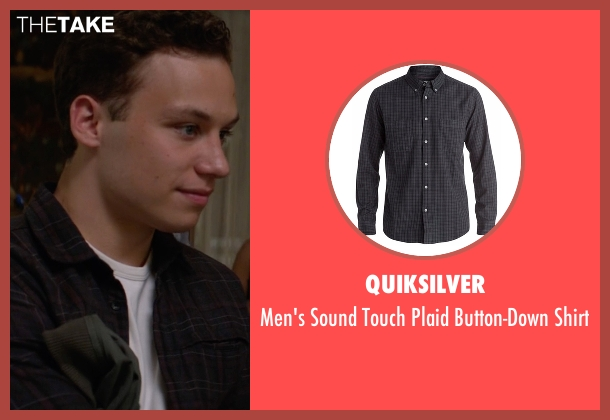Quiksilver black shirt from Animal Kingdom seen with Joshua 'J' Cody (Finn Cole)