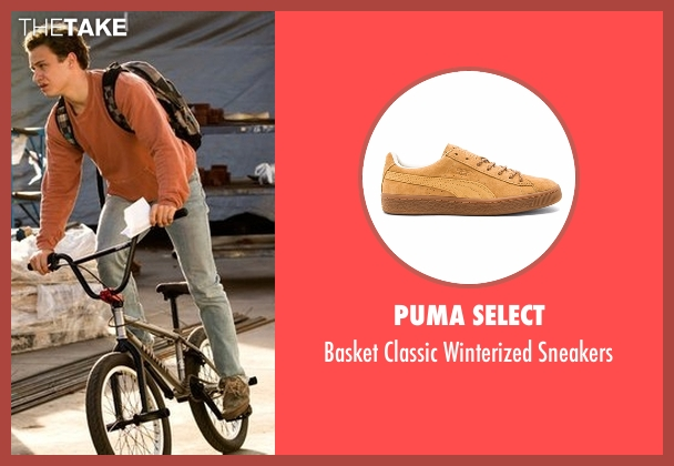 Puma Select brown sneakers from Animal Kingdom seen with Joshua 'J' Cody (Finn Cole)