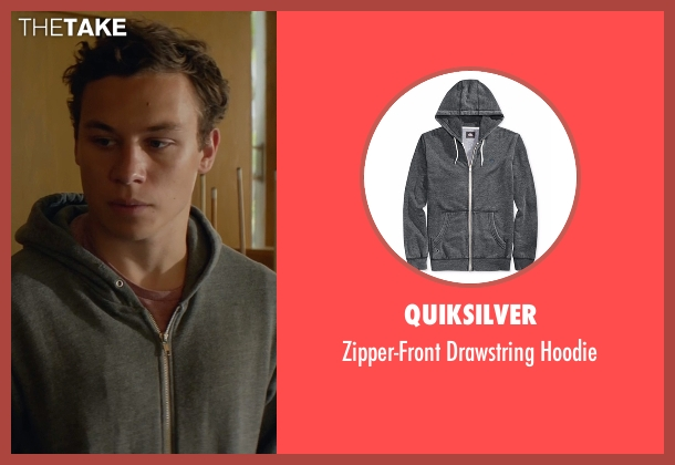 Quiksilver gray hoodie from Animal Kingdom seen with Joshua 'J' Cody (Finn Cole)