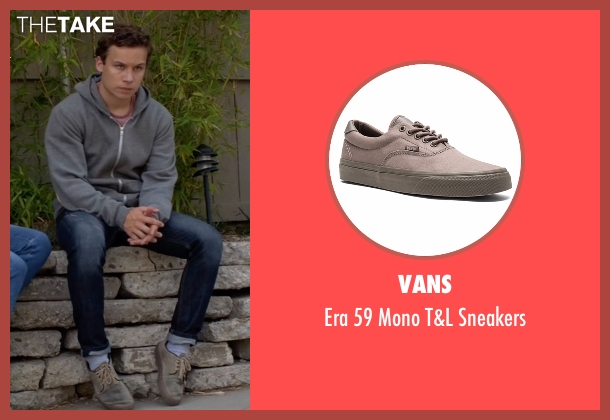 Vans gray sneakers from Animal Kingdom seen with Joshua 'J' Cody (Finn Cole)