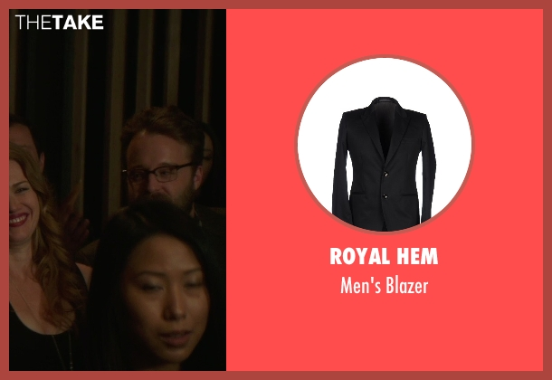 Royal Hem black blazer from If I Stay seen with Joshua Leonard (Denny Hall)