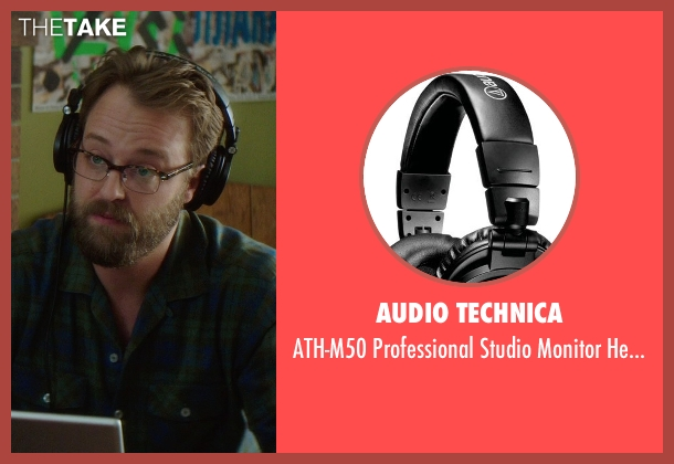 Audio Technica black headphones from If I Stay seen with Joshua Leonard (Denny Hall)