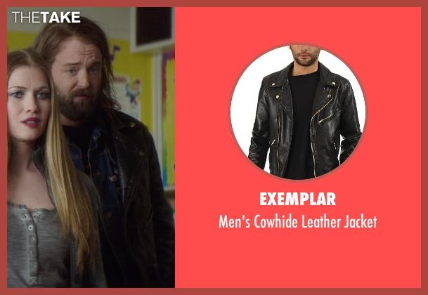 Exemplar black jacket from If I Stay seen with Joshua Leonard (Denny Hall)