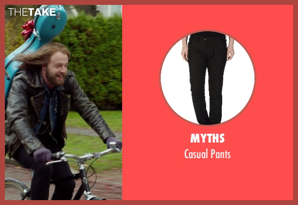 Myths black pants from If I Stay seen with Joshua Leonard (Denny Hall)