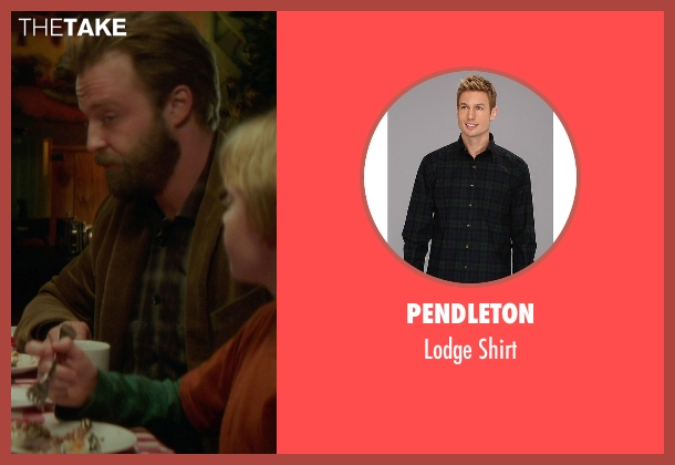 Pendleton black shirt from If I Stay seen with Joshua Leonard (Denny Hall)