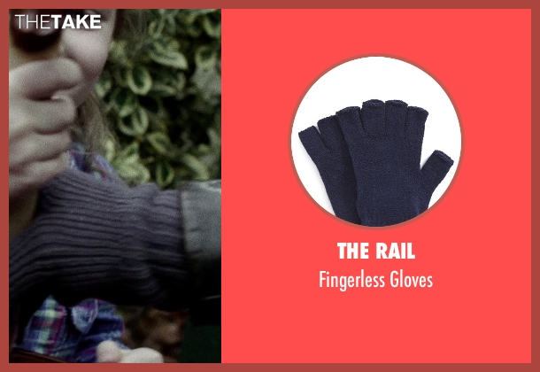 The Rail blue gloves from If I Stay seen with Mireille Enos (Kat Hall)