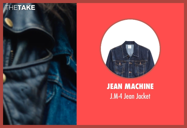 Jean Machine blue jacket from If I Stay seen with Joshua Leonard (Denny Hall)