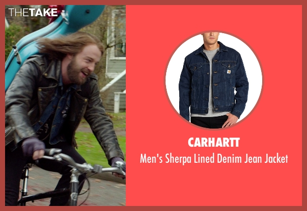 Carhartt  blue jacket from If I Stay seen with Joshua Leonard (Denny Hall)