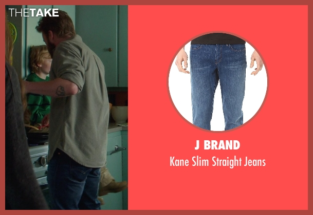 J Brand blue jeans from If I Stay seen with Joshua Leonard (Denny Hall)