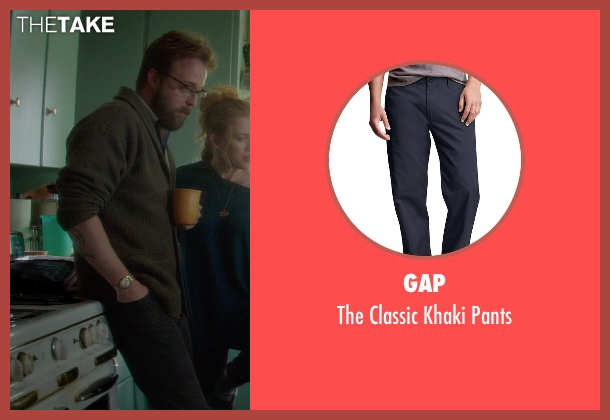 Gap blue pants from If I Stay seen with Joshua Leonard (Denny Hall)