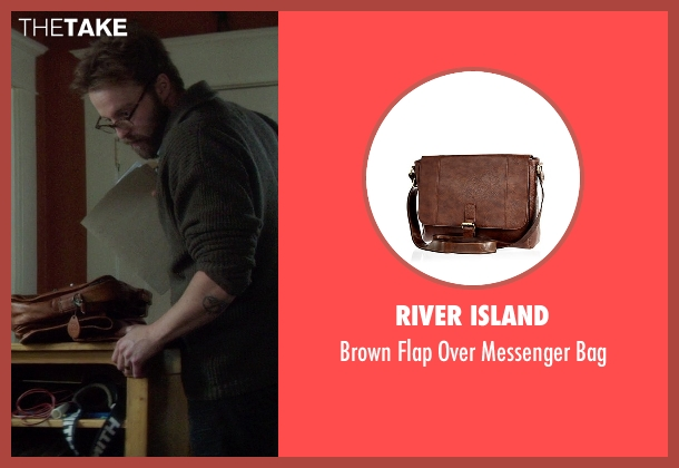 River Island brown bag from If I Stay seen with Joshua Leonard (Denny Hall)