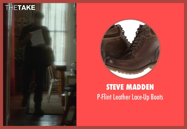 Steve Madden brown boots from If I Stay seen with Joshua Leonard (Denny Hall)