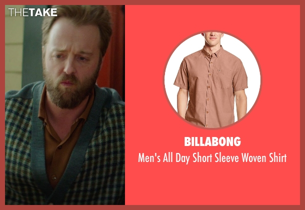 Billabong brown shirt from If I Stay seen with Joshua Leonard (Denny Hall)