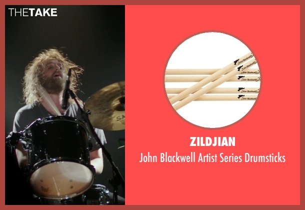 Zildjian drumsticks from If I Stay seen with Joshua Leonard (Denny Hall)