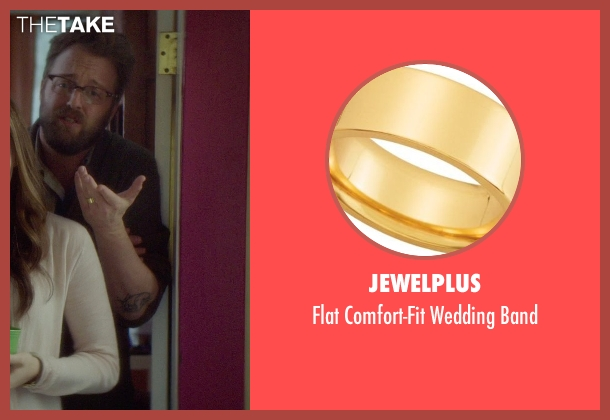 Jewelplus gold band from If I Stay seen with Joshua Leonard (Denny Hall)