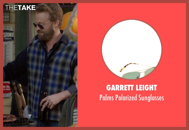 Garrett Leight gold sunglasses from If I Stay seen with Joshua Leonard (Denny Hall)