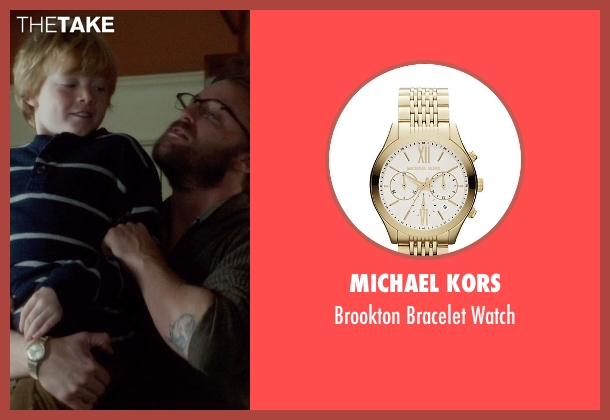 Michael Kors gold watch from If I Stay seen with Joshua Leonard (Denny Hall)