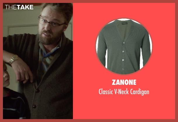 Zanone green cardigan from If I Stay seen with Joshua Leonard (Denny Hall)