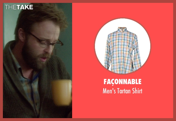 Façonnable green shirt from If I Stay seen with Joshua Leonard (Denny Hall)