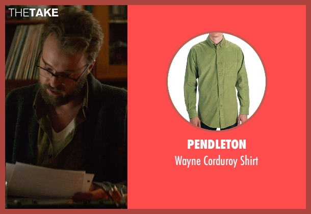 Pendleton green shirt from If I Stay seen with Joshua Leonard (Denny Hall)