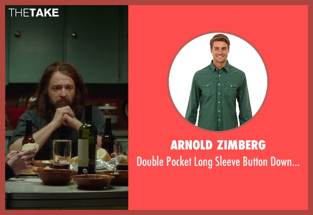 Arnold Zimberg green shirt from If I Stay seen with Joshua Leonard (Denny Hall)