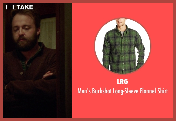 LRG green shirt from If I Stay seen with Joshua Leonard (Denny Hall)