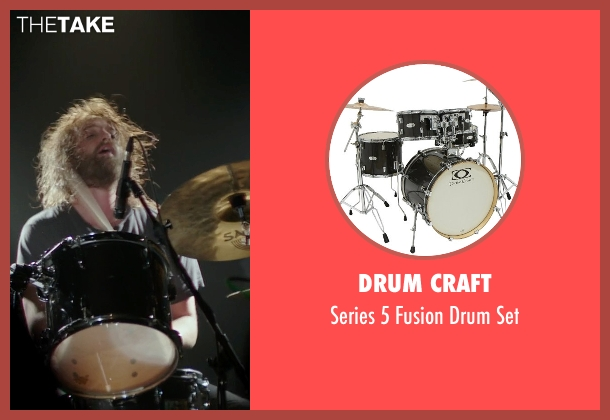 Drum Craft set from If I Stay seen with Joshua Leonard (Denny Hall)