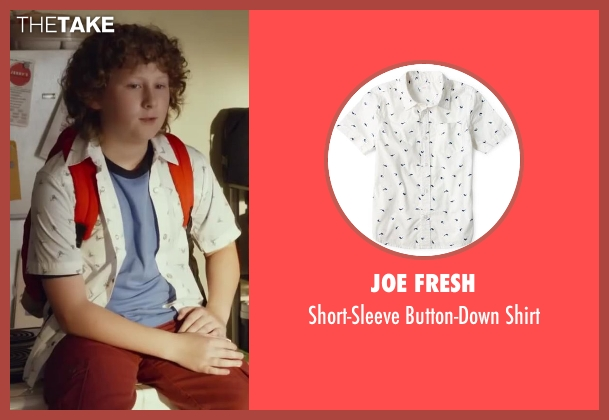Joe Fresh shirt from Let's Be Cops seen with Joshua Ormond (Little Joey)