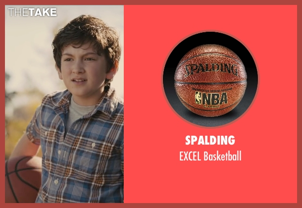 Spalding basketball from Paper Towns seen with Josiah Cerio (Young Quentin)