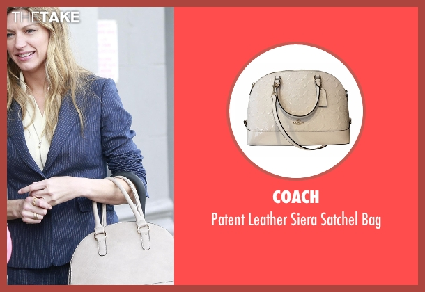 Coach beige bag from Mistresses seen with Josslyn Carver (Jes Macallan)