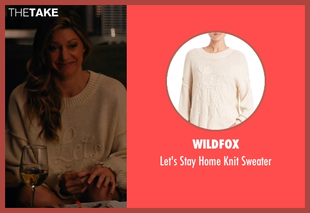 Wildfox beige sweater from Mistresses seen with Josslyn Carver (Jes Macallan)