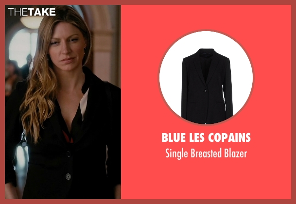 Blue Les Copains black blazer from Mistresses seen with Josslyn Carver (Jes Macallan)
