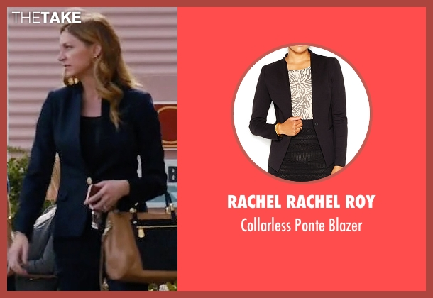 Rachel Rachel Roy black blazer from Mistresses seen with Josslyn Carver (Jes Macallan)