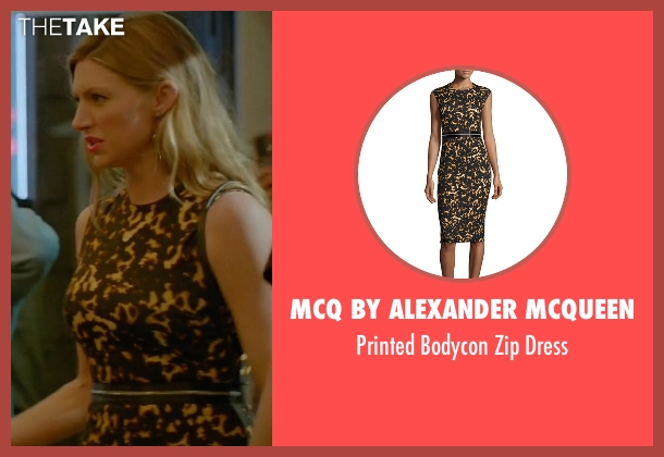 McQ by Alexander McQueen black dress from Mistresses seen with Josslyn Carver (Jes Macallan)