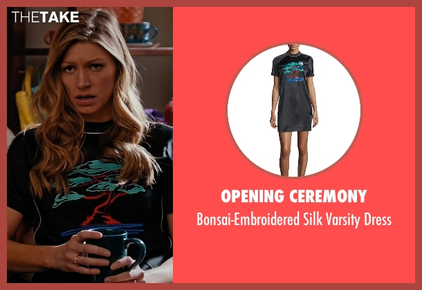 Opening Ceremony black dress from Mistresses seen with Josslyn Carver (Jes Macallan)