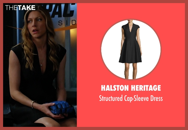 Halston Heritage black dress from Mistresses seen with Josslyn Carver (Jes Macallan)
