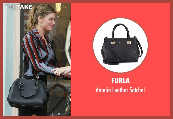 Furla  black satchel from Mistresses seen with Josslyn Carver (Jes Macallan)