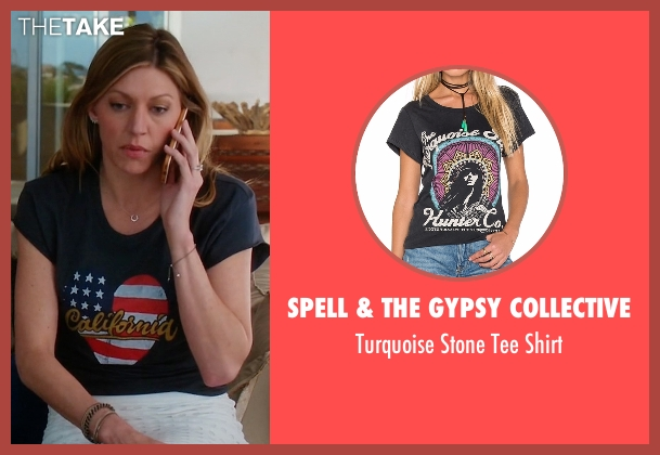 Spell & The Gypsy Collective black shirt from Mistresses seen with Josslyn Carver (Jes Macallan)