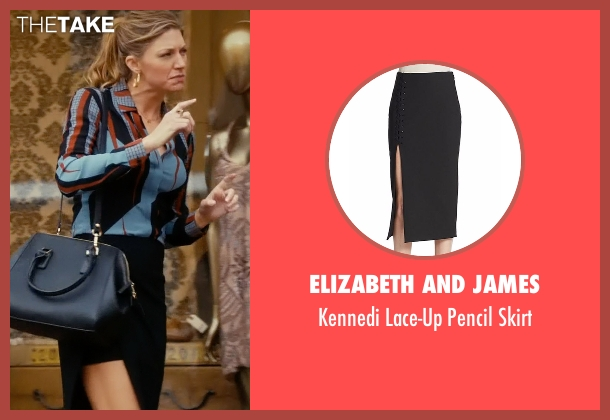 Elizabeth And James black skirt from Mistresses seen with Josslyn Carver (Jes Macallan)
