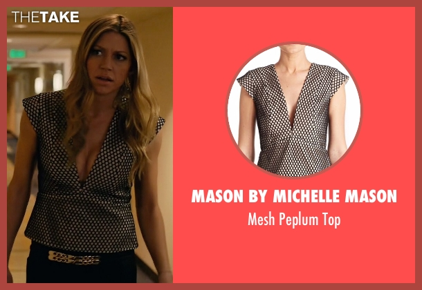 Mason by Michelle Mason black top from Mistresses seen with Josslyn Carver (Jes Macallan)